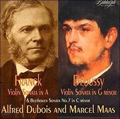 Alfred Dubois 드뷔시 / 프랑크: 바이올린 소나타 - 알프레드 뒤보아, 마르셀 마스 (Debussy / Franck: Violin Sonatas)