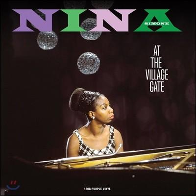 Nina Simone (니나 시몬) - At The Village Gate (1961년 뉴욕 빌리지 게이트 라이브) [퍼플 컬러 LP]