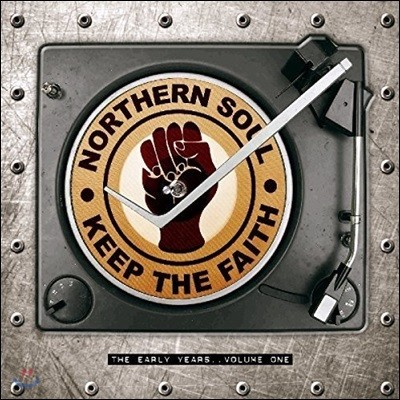 노던 소울 초기작 모음집 (Northern Soul - Keep the Faith: The Early Years Volume 1) [투명 컬러 3 LP]