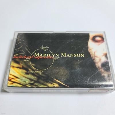 (중고Tape) Marilyn Manson - Anfichrist Superstar