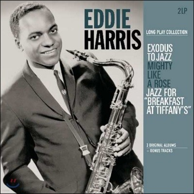 Eddie Harris (에디 해리스) - Exodus To Jazz / Mighty Like a Rose / Jazz For Breakfast At Tiffany's [2 LP]