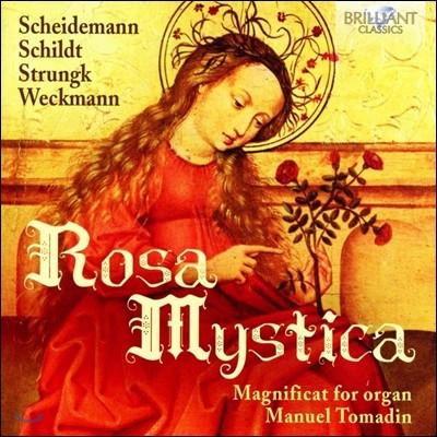 Manuel Tomadin 로자 미스티카 - 오르간으로 연주하는 마그니피카트 모음집 (Rosa Mystica - Magnificat for Organ: Scheidemann / Schildt / Strungk / Weckmann)
