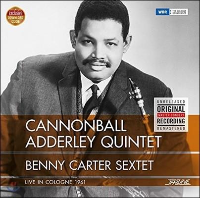 Cannonball Adderley / Benny Carter - Live In Cologne 1961 (캐논볼 애덜리 퀸텟, 베니 카터 색스텟 쾰른 라이브)[LP]