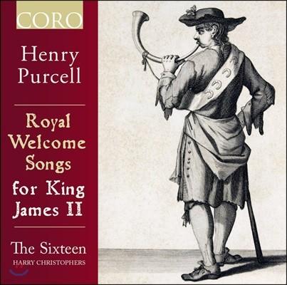 The Sixteen 헨리 퍼셀: 제임스 2세를 위한 왕실 환영 음악 - 더 식스틴, 해리 크리스토퍼스 (Henry Purcell: Royal Welcome Songs for King James II)