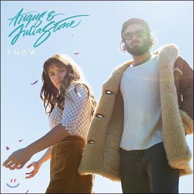 Angus & Julia Stone (앵거스 앤 줄리아 스톤) - Snow [화이트 컬러 2 LP]