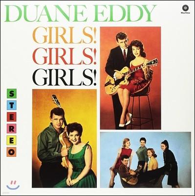 Duane Eddy (듀에인 에디) - Girls! Girls! Girls! [LP]