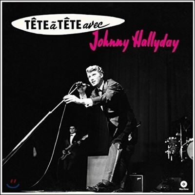 Johnny Hallyday (조니 할리데이) - Tete A Tete Avec Johnny Hallyday [LP]