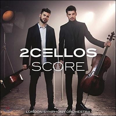 2Cellos (투첼로스) - Score (스코어: 영화음악 연주집) [2LP]