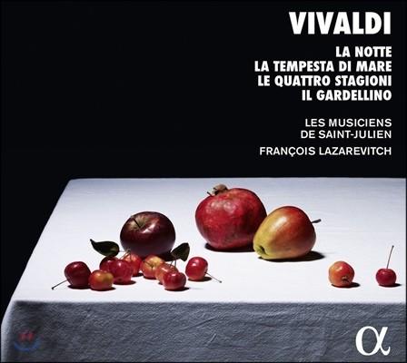 Francois Lazarevitch 비발디: 협주곡집 - 사계, 홍방울새, 바다의 폭풍우, 밤 (Vivaldi: Concertos - La Notte, La Tempesta di Mare, Le Quattro Stagioni, Il Gardellino) 프랑수아 라자레비치