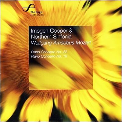Imogen Cooper 모차르트: 피아노 협주곡 18번, 22번 (Mozart: Piano Concertos No.18, No.22)