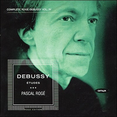 Pascal Roge 드뷔시 피아노 작품 4집 - 연습곡 (Debussy: Piano Works Vol. 4 - 12 Etudes)