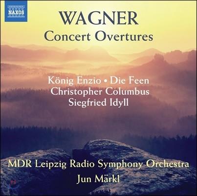Jun Markl 바그너: 연주회용 서곡 모음집 - MDR 라이프치히 라디오 심포니 오케스트라, 윤 메르클 (Wagner: Concert Overtures)