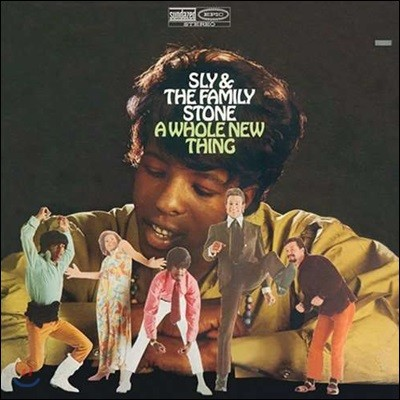 Sly & The Family Stone (슬라이 앤 더 패밀리 스톤) - A Whole New Thing [LP]