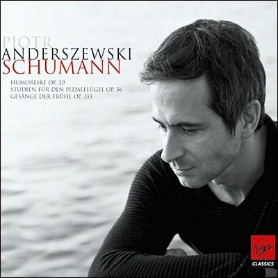 Piotr Anderszewski 슈만 : 유모레스크 등 피아노 작품집 - 표트르 안데르체프스키 (Schumann: Piano Works)