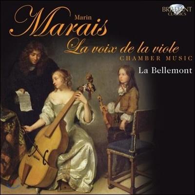 La Bellemont 마랭 마레: 비올의 목소리 - 비올 작품집 (Marin Marais: La Voix de la Viole)