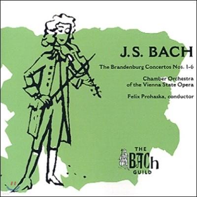 Felix Prohaska 바흐: 브란덴부르크 협주곡 1-6번 (J.S. Bach: The Brandenburg Concertos BWV1046-1051)