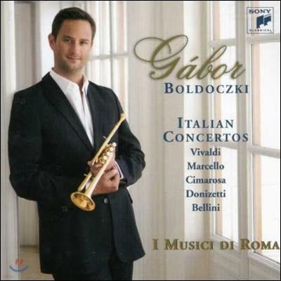 Gabor Boldoczki 이탈리안 트럼펫 협주곡집 - 비발디 / 마르첼로 / 치마로사 / 도니제티 / 벨리니 (Italian Concertos) 가보 볼도츠키, 이 무지치 디 로마