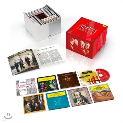 Amadeus Quartett 아마데우스 사중주단 - DG, 데카, 웨스트민스터 녹음 전집 (The Complete Recordings on Deutsche Grammophon, Decca, Westminster)