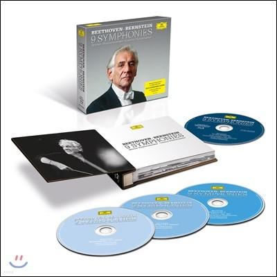 Leonard Bernstein 베토벤: 교향곡 1-9번 전곡 - 빈 필하모닉, 레너드 번스타인 (Beethoven: Complete 9 Symphonies)