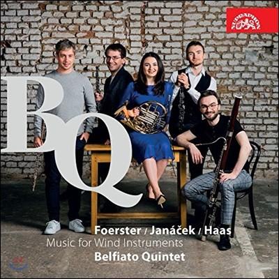 Belfiato Quintet 푀르스터: 목관 5중주 Op.95 / 하스: 목관 5중주 Op.10 / 야나체크: 목관 6중주 '젊음' - 벨피아토 퀸테트 (Foerster / Haas: Wind Quintet / Janacek: Wind Sextet 'Mladi')