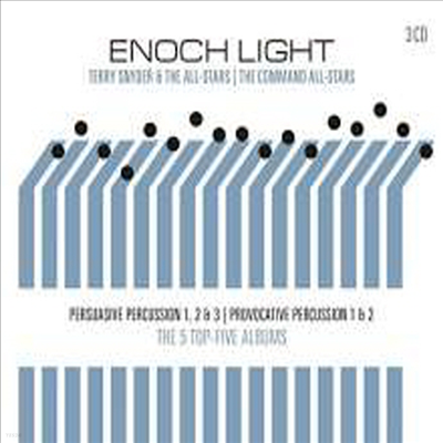 Enoch Light - Persuasive & Provocative Percussion (Remastered)(3CD)
