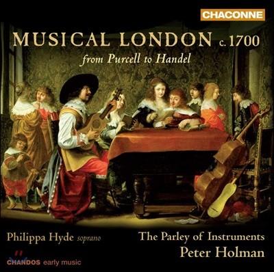 Philippa Hyde 1700년대의 런던 음악 (Muscal London, c1700)