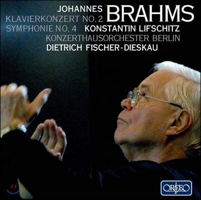 Dietrich Fischer-Dieskau / Konstantin Lifschitz 브람스: 피아노 협주곡 2번, 교향곡 4번