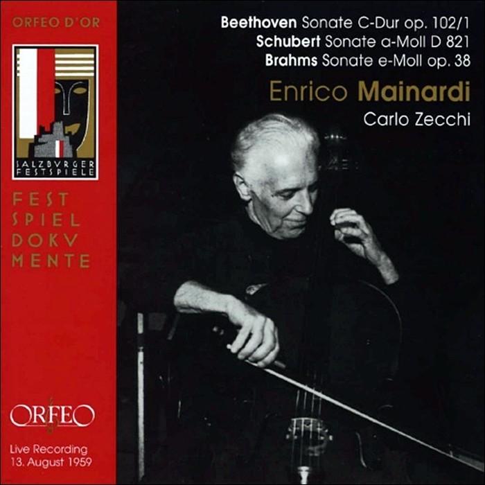 Enrico Mainardi 첼로 소나타 - 베토벤 슈베르트 브람스 (Beethoven / Schubert / Brahms: Cello Sonatas)