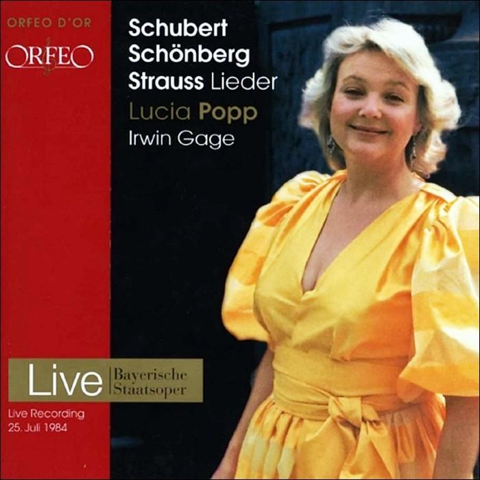 Lucia Popp 루치아 포프 가곡집 - 슈베르트 & 쉰베르크 & 슈트라우스 (Lieder by Schubert, Strauss & Schoenberg)