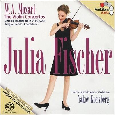 Julia Fischer 모차르트: 바이올린과 오케스트라를 위한 작품 전곡 (Mozart : Violin Concertos, Sinfonia Concertante)