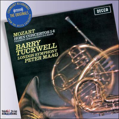 Barry Tuckwell 모차르트: 호른 협주곡집 (Mozart: Horn Concertos )