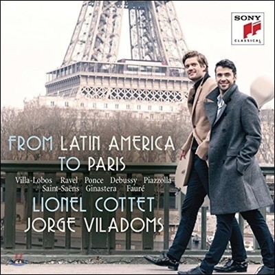 Lionel Cottet 라틴 아메리카에서 파리까지: 빌라-로보스 / 라벨 / 퐁세 / 드뷔시 / 피아졸라 외 (From Latin America to Paris - Villa-Lobos / Ravel / Ponce / Debussy / Piazzolla: Works for Cello and Piano)