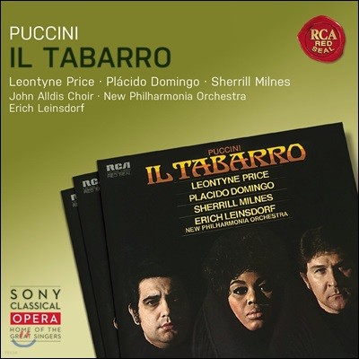 Leontyne Price / Placido Domingo 푸치니: 외투 - 레온타인 프라이스, 플라시도 도밍고, 에리히 라인스도르프 (Puccini: Il Tabarro)