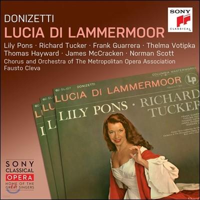 Lily Pons / Fausto Cleva 도니제티: 람메르무어의 루치아 - 릴리 퐁스, 리차드 터커, 파우스토 클레바 (Donizetti: Lucia di Lammermoor)