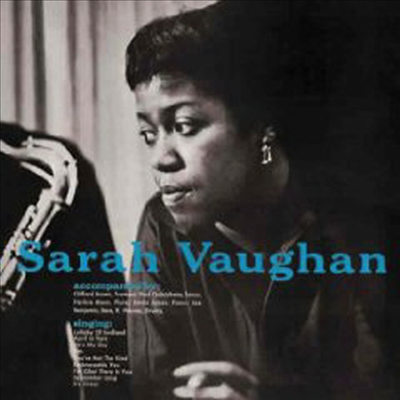Sarah Vaughan & Clifford Brown - Sarah Vaughan with Clifford Brown (Limited Edition) (180g Vinyl) (LP)