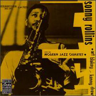 Sonny Rollins With The Modern Jazz Quartet - Sonny Rollins With The Modern