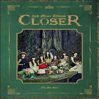 오마이걸 (Oh My Girl) / Closer (2nd Mini Album/미개봉)