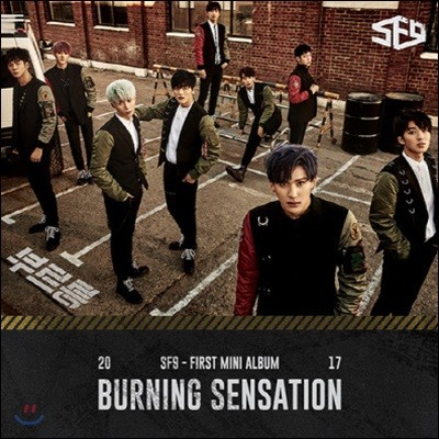 [중고] 에스에프나인 (SF9) / Burning Sensation