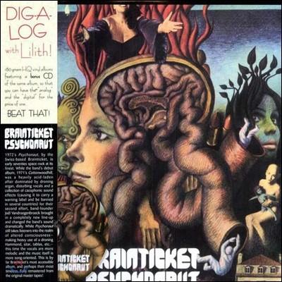 Brainticket - Psychonaut [LP+CD Deluxe Edition]
