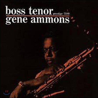 Gene Ammons (진 아몬스) - Boss Tenor [LP]