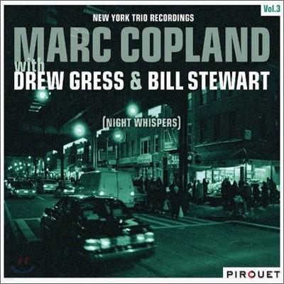 Marc Copland With Drew Gress & Bill Stewart - New York Trio Recordings Vol.3: Night Whisperer