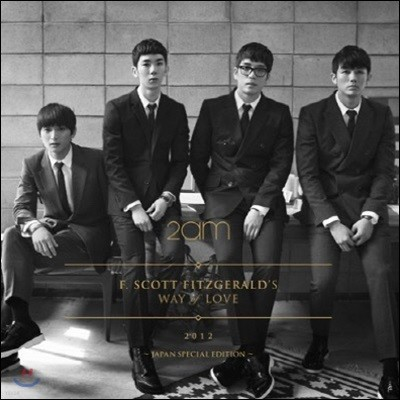 투에이엠 (2AM) / F.Scott Fitzgerald's Way Of Love (일본반/CD+DVD/미개봉/bvcl3656)