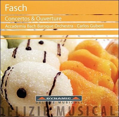 파슈: 오보에협주곡, 2대의 오보에를 위한 협주곡, 우베르튀르