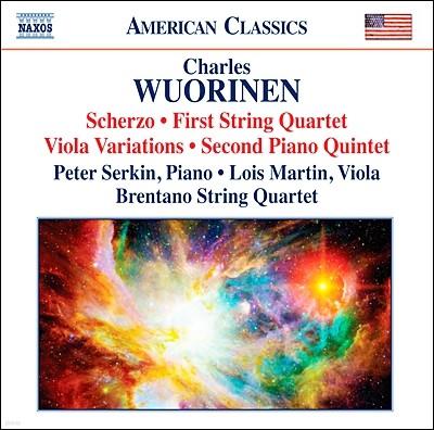 Brentano String Quartet 찰스 우리넨: 실내악 작품집 (Charles Wuorinen: Chamber Music)