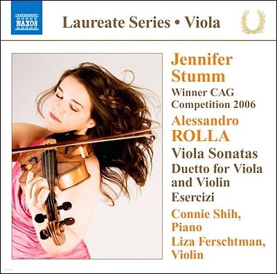 Jennifer Stumm 알렉산드로 롤라: 비올라와 피아노를 위한 소나타 (Alessandro Rolla: Viola Sonata)