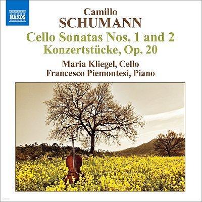 카밀로 슈만: 첼로소나타 1,2번, 콘체르트슈튀크 Op.20