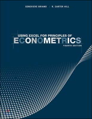 Using Excel for Principles of Econometrics