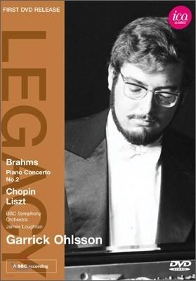 브람스 : 피아노 협주곡 2번, 쇼팽 : 스케르초 1번, 영웅 폴로네이즈, 리스트 : 장송곡  - 게릭 올슨, 제임스 러프란