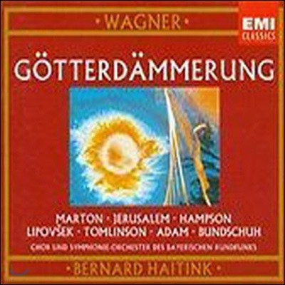 Bernard Haitink / Wagner: Gotterdammerung (4CD/수입/미개봉/077775448528)