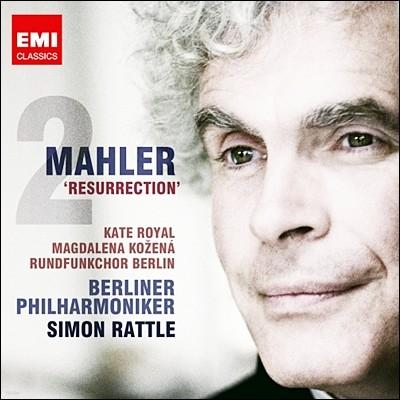 Simon Rattle 말러 : 교향곡 2번 '부활' (Mahler: 'Resurrection') [새 녹음]
